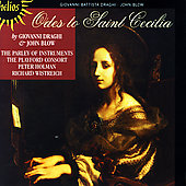 Odes to Saint Cecilia - Draghi, Blow / Holman, et al