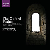 The Oxford Psalms - Lawes, Purcell, etc / Charivari Agréable