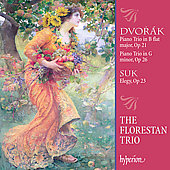 Dvorak: Piano Trios;  Suk: Elegy / The Florestan Trio