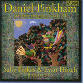 Pinkham: Piano Music Vol 2 / Sally Pinkas, Evan Hirsch
