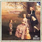 Boyce: 8 Symphonies / Pinnock, English Concert