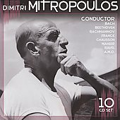 Dimitri Mitropoulos - Bach, Beethoven, Rachmaninov, et al / Rubinstein, Graudan, et al