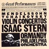 Mendelssohn, Tchaikovsky: Violin Concertos / Stern, Ormandy