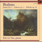 Brahms: Piano Sonata No. 2