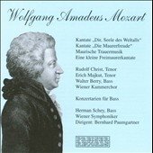 W.A. Mozart: Cantatas / Paumgartner