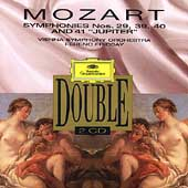 Mozart: Symphonies nos 29, 39, 40 & 41 / Fricsay, Vienna SO