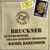 Bruckner: 10 Symphonies / Daniel Barenboim - Chicago SO [10 CDs]