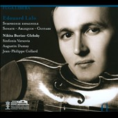 Edouard Lalo: Symphonie Espagnole; Sonate; Arlequin; Guitare / Nikita Boriso-Glebsky, Augustin Dumay; Jean-Philippe Collard