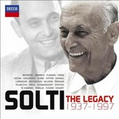 Solti: The Legacy, 1937-1997 / Angela Gheorghiu, Hans Hotter, Hildegard Behrens, Renee Fleming and Birgit Nilsson et al.