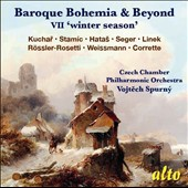 Baroque Bohemia & Beyond, Vol. 7 'Winter Season' - works by Kuchar, Stamic, Hatas, Seger, Linek, Weissmann, Corrette