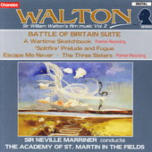 Walton: Battle of Britain Suite, etc / Marriner, ASMF