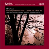 Brahms: The Complete Piano Trios; Clarinet Trio; Horn Trio / Richard Hosford, clarinet, Stephen Stirling, horn
