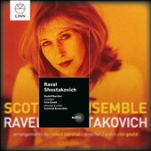 Ravel and Shostakovich string quartets arranged for chamber orchestra by R. Barshai / Scottish Ensemble, Gould