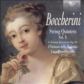 Boccherini: String Quintets, Op. 29 (Vol. 10) / Luigi Puxeddu, cello; Rotonda Virtuosi