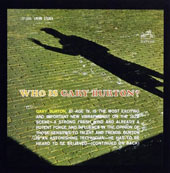 Gary Burton (Vibes): Who Is Gary Burton?
