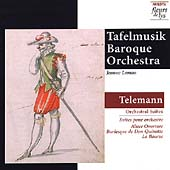 Telemann: Orchestral Suites / Tafelmusik Baroque Orchestra