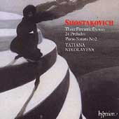 Shostakovich: Three Fantastic Dances, etc / Nikolayeva