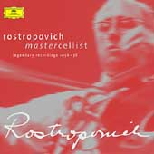 Rostropovich - Mastercellist - Legendary Recordings 1956-78