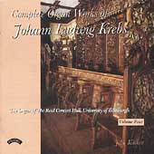 Krebs: Complete Organ Works Vol 4 / John Kitchen