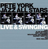 Pete York (Drums): Live and Swinging