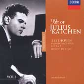 The Art of Julius Katchen Vol 1 - Beethoven / Gamba, LSO