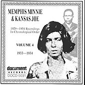 Memphis Minnie: Complete Recorded Works, Vol. 4 (1933-1934)
