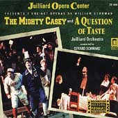 Schuman: The Mighty Casey, A Question of Taste / Schwarz