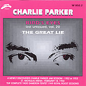 Charlie Parker (Sax): Bird Eyes, Vol. 20