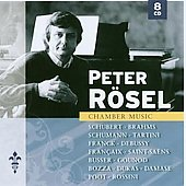 Chamber Works - Schubert, Brahms, et al / Peter R&#246;sel, et al