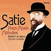 Satie: Piano Music, M&#233;lodies / de Leeuw, Kweksilber