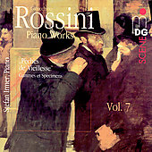 SCENE Rossini: Piano Works Vol 7 / Stefan Irmer