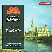 Richter: Symphonies / Bamert, et al