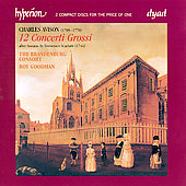 Avison: 12 Concerti Grossi after Scarlatti / Roy Goodman