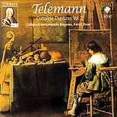 Telemann: Overtures Vol 2 / Peire, et al
