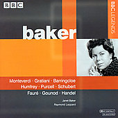 Monteverdi, Graziani, Schubert, etc / Janet Baker