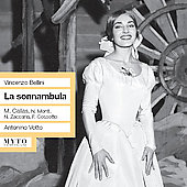 Bellini: La Sonnambula / Votto, Callas, Monti, et al
