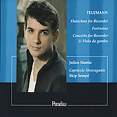 Telemann: Overture for Recorder in A minor, 3 Fantasias