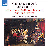 Guitar Music of Chile - Contreras, Salinas, et al