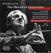 Elgar: The Dream of Gerontius;  Berlioz: Symphonie Fantastique / Barbirolli, Vickers, et al