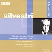 Tchaikovsky: Symphony no 3;  Elgar: Enigma Variations;  Reznicek: Donna Diana Overture / Constantin Silvestri, Bournemouth Symphony Orchestra