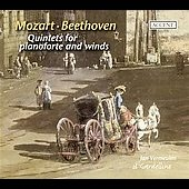 Mozart: Piano Quintet KV 452;  Beethoven: Piano Quintet Op 16, etc / Vermeulen, Il Gardellino