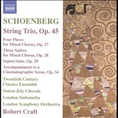Arnold Schoenberg: String Trio, Four Pieces