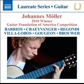 Johannes Moller - 2010 Winner Guitar Foundation Of America Competition