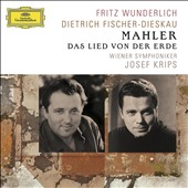 Mahler: Das Lied von der Erde / Wunderlich, Fischer-Dieskau