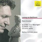 Ludwig van Beethoven: Piano Sonatas Op. 27 No. 1 & 2, Op. 49 No. 1 & 2, and Other Works