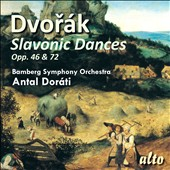Dvor&#225;k: Slavonic Dances / Antal Dorati - Bamberg SO