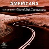 Americana - Choral Works by Thompson, Carter & Shifrin