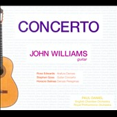 Concerto' - works for Guitar & Orchestra by Salinas, Edwards & Goss / John Williams, guitar; English CO; Royal PO; Daniel
