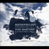 Beethoven: Symphonies Nos. 4 & 5, piano reductions (Transcribed F. Liszt) / Yury Martynov, period piano