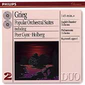 Grieg: Popular Orchestral Suites / Leppard